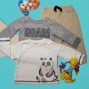 Baby boy 3 piece bundle.